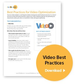 YouTube Best Practices for Video Optimization