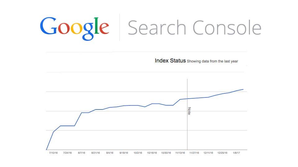 Google Search Console Index Status Report